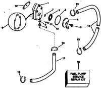 Filter bränslepump
